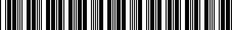 Barcode for 0053632955