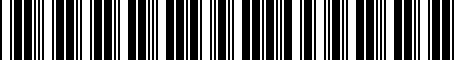Barcode for 770010R100