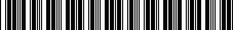 Barcode for 9008087026