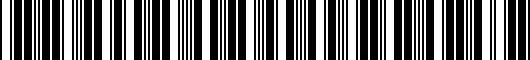 Barcode for PT53635970DR