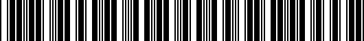 Barcode for PT53635970SB