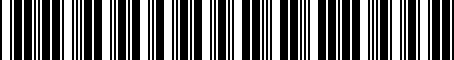 Barcode for PTS2200031