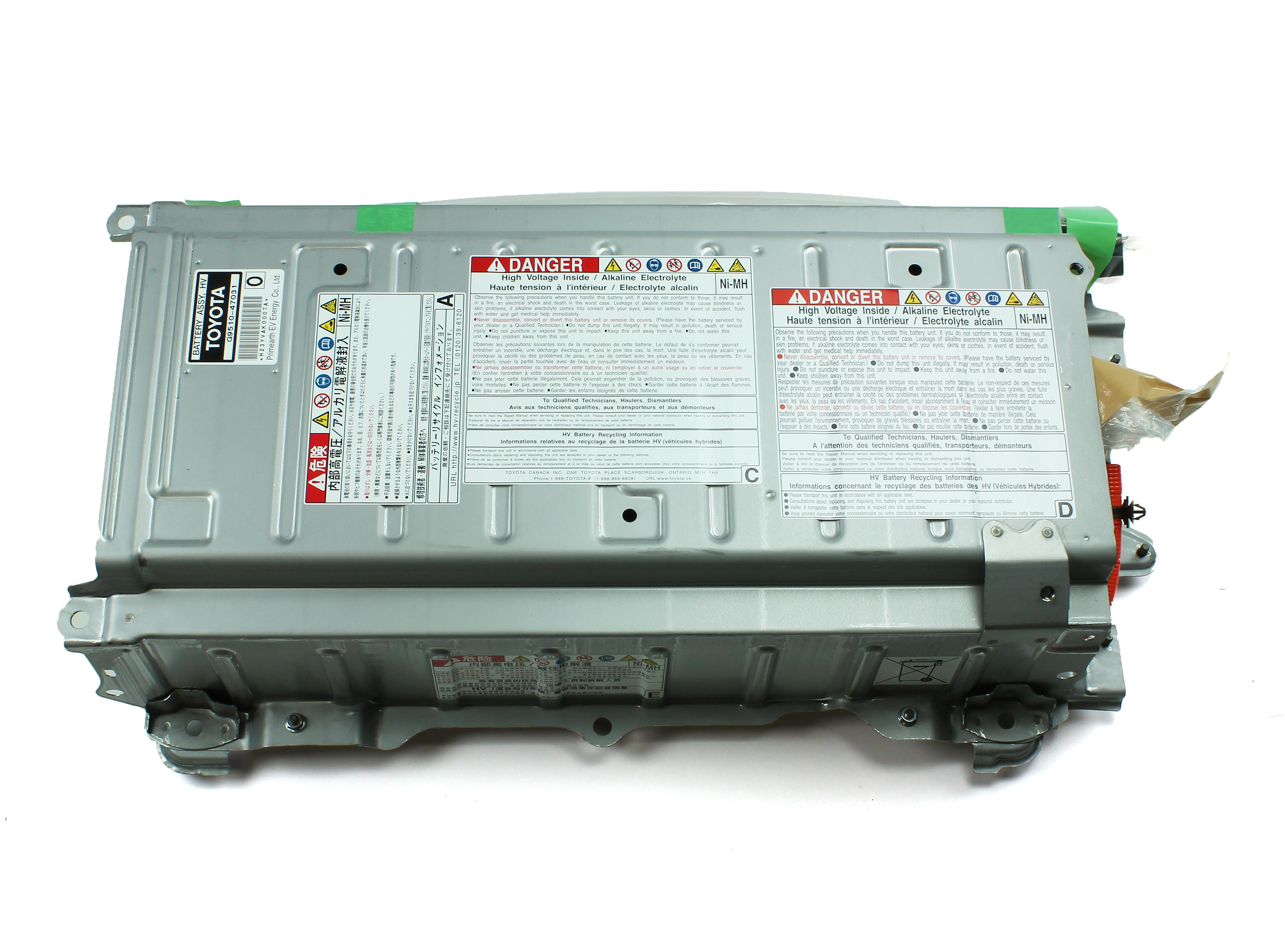 2007 Toyota Prius Battery Assembly  Hv Supply  Electrical
