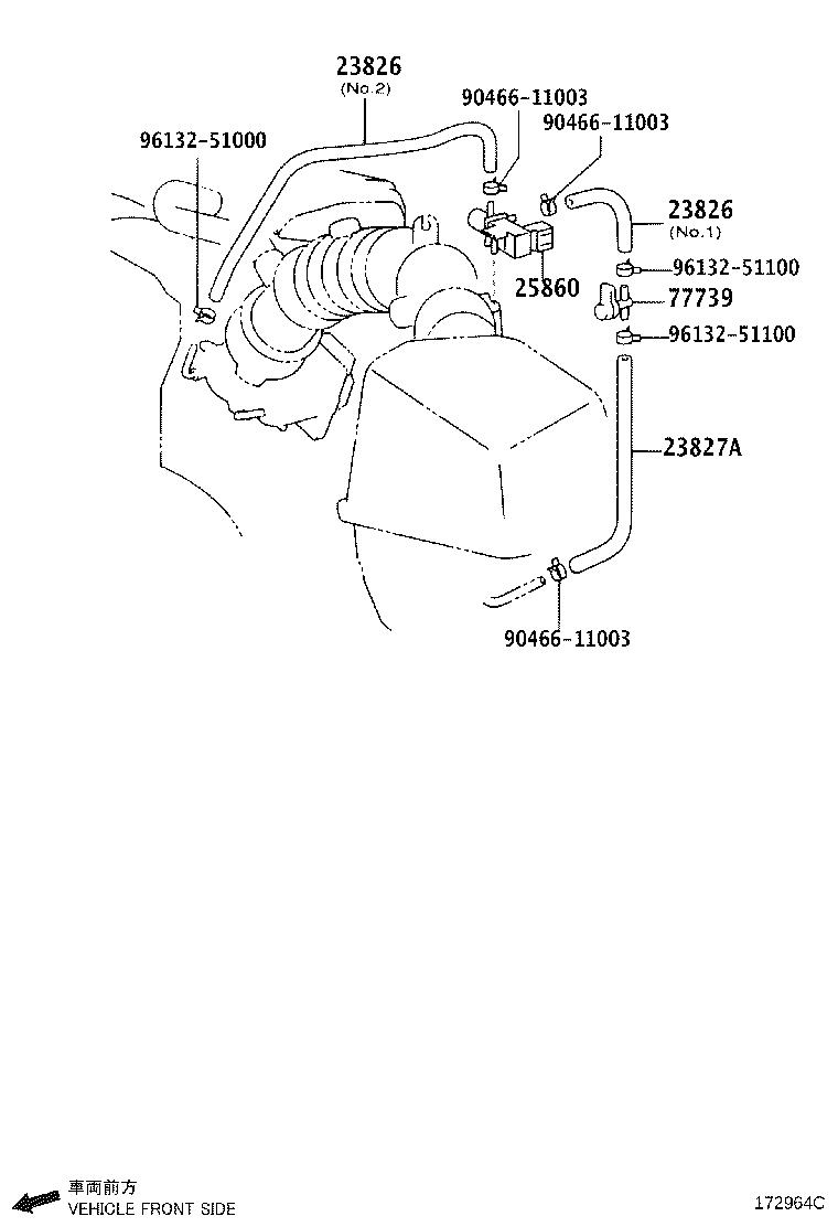 Diagram  2002 Toyota Camry Engine Parts Diagram Full