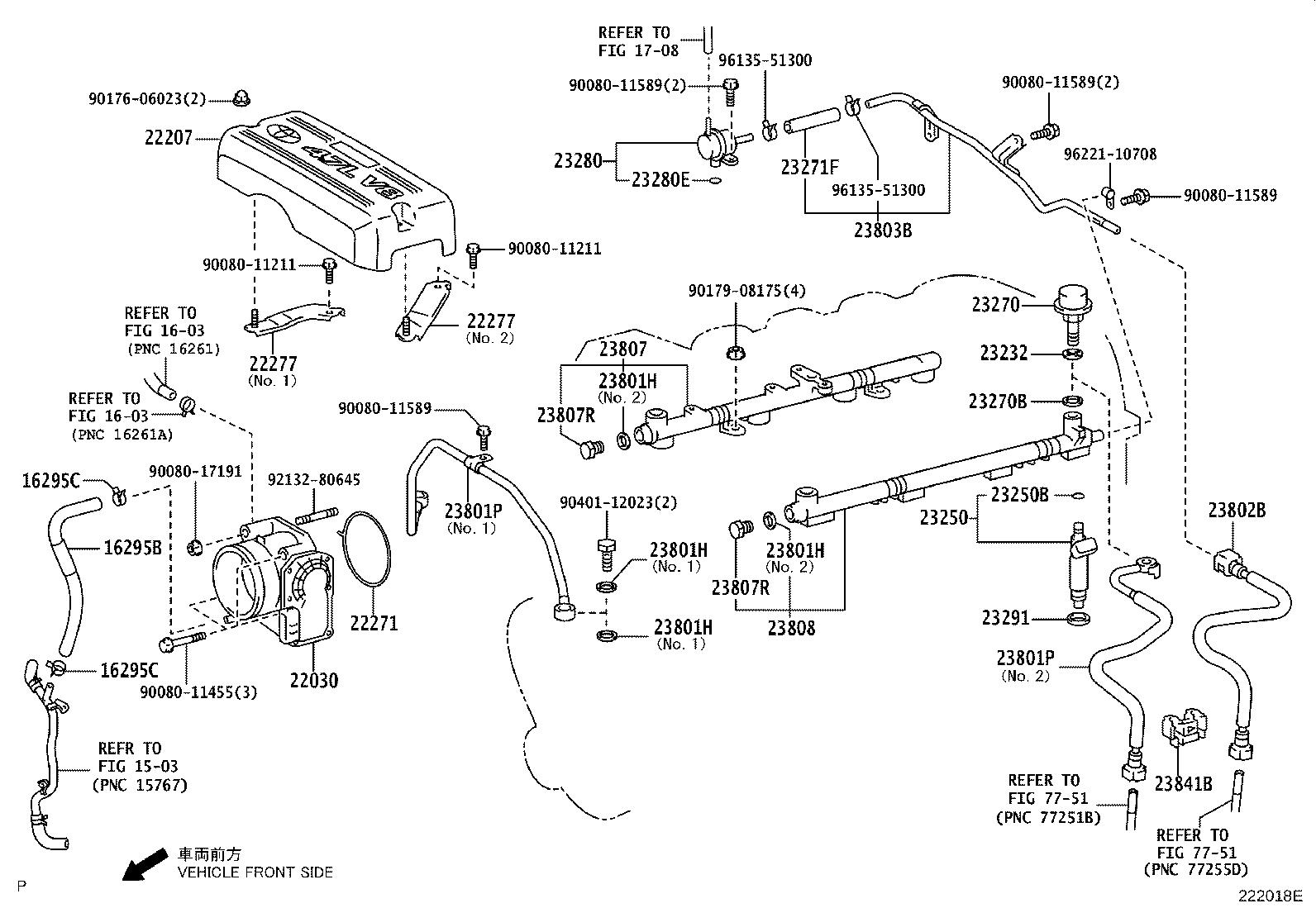 Toyota Tundra Fuel Injection Throttle Body  System  Make