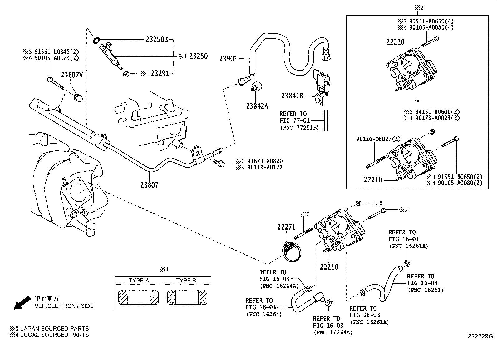 2013 Toyota Corolla Injector Assembly  Fuel  Interchangeable With 2320909140