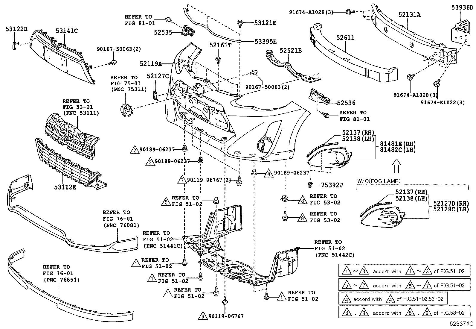 2013 Toyota Prius C Parts Diagram