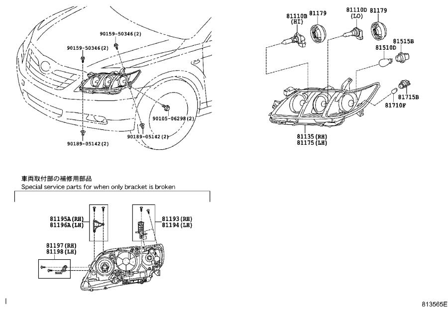 Diagram 2000 Toyota Headlight Diagram Full Version Hd Quality Headlight Diagram Diagramingco Ligueducentretbojudo Fr