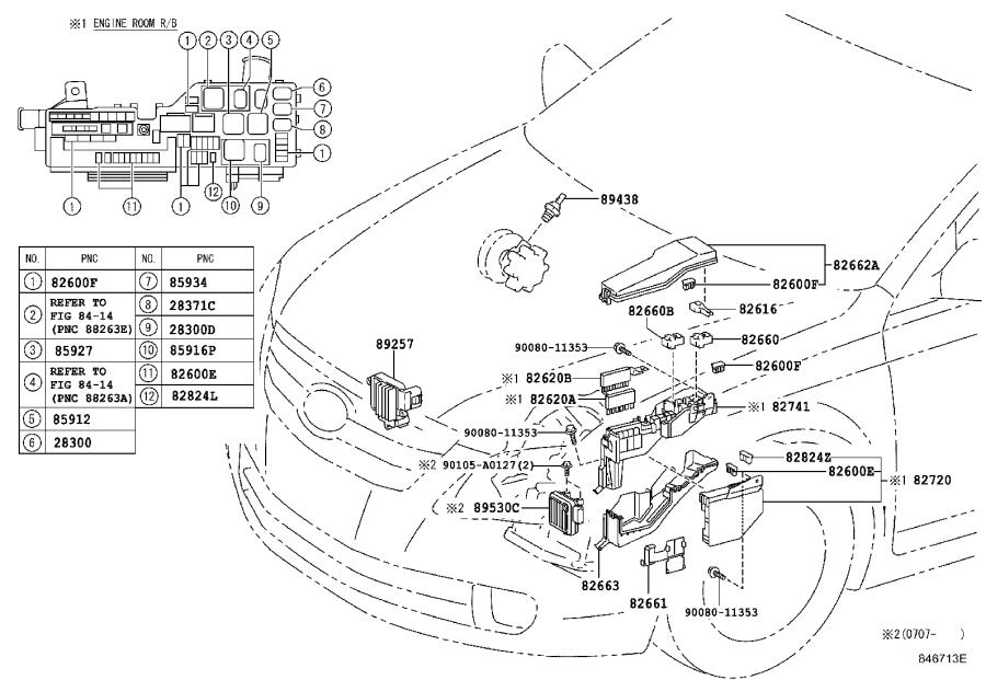 Diagram SWITCH & RELAY & COMPUTER for your 1995 Toyota Camry