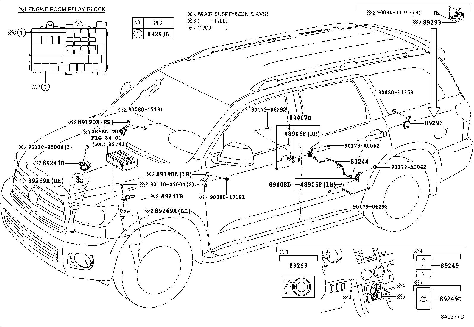 Toyota Sequoia Diagram