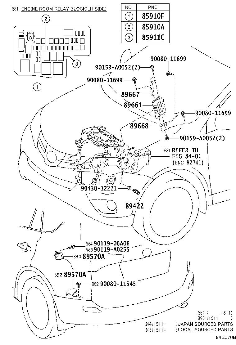 Diagram ELECTRONIC FUEL INJECTION SYSTEM for your 2017 Toyota RAV4