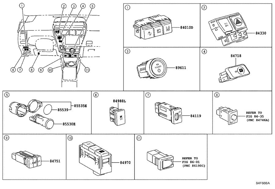 Diagram SWITCH & RELAY & COMPUTER for your 1991 Toyota 4Runner