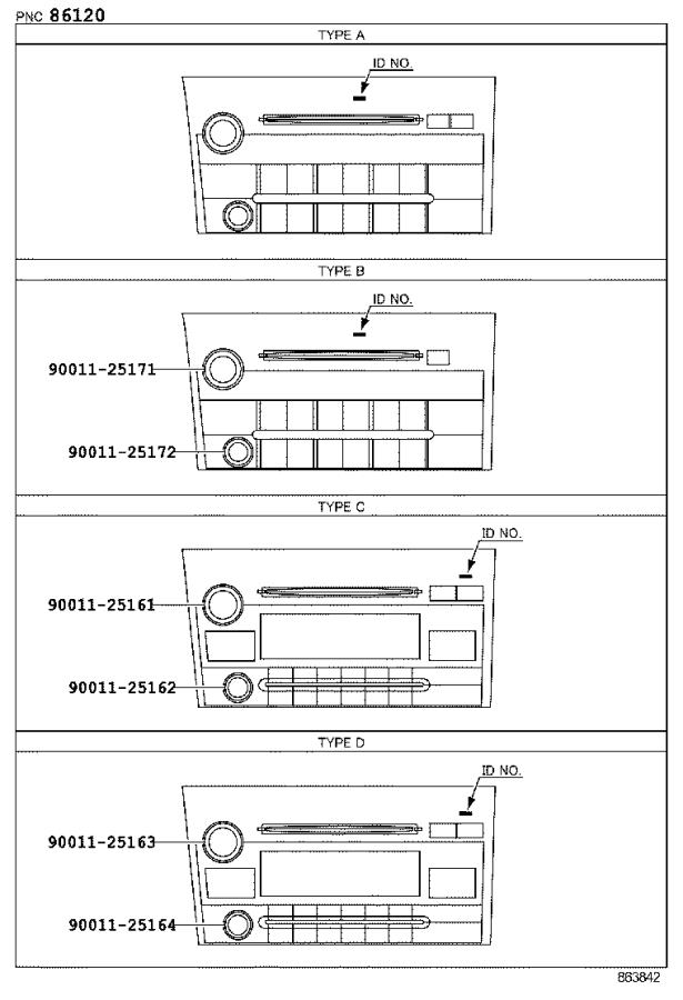 Diagram RADIO RECEIVER & AMPLIFIER & CONDENSER for your 2013 Toyota Tundra
