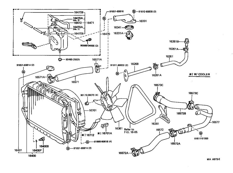 1994 Toyota 22 Re Engine Diagram
