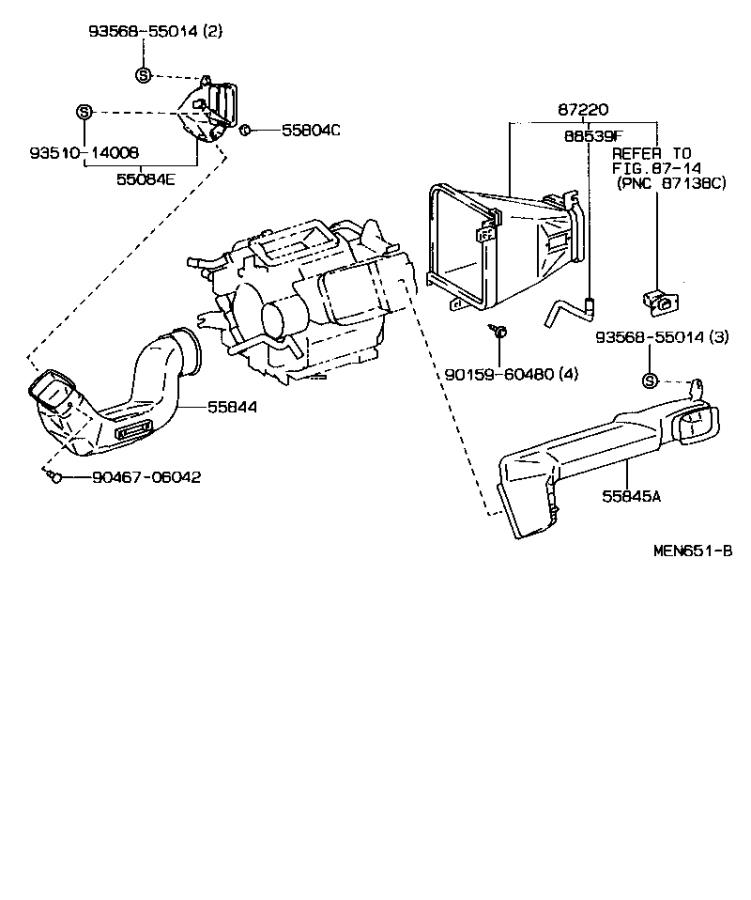 1990 Toyota Celica Rear Suspension Diagram