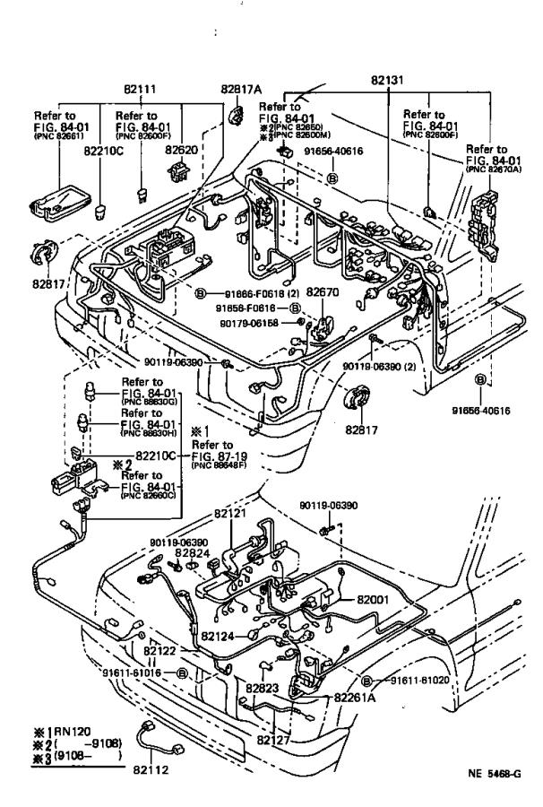 1995 toyota 4runner wire  fusible link repair  engine