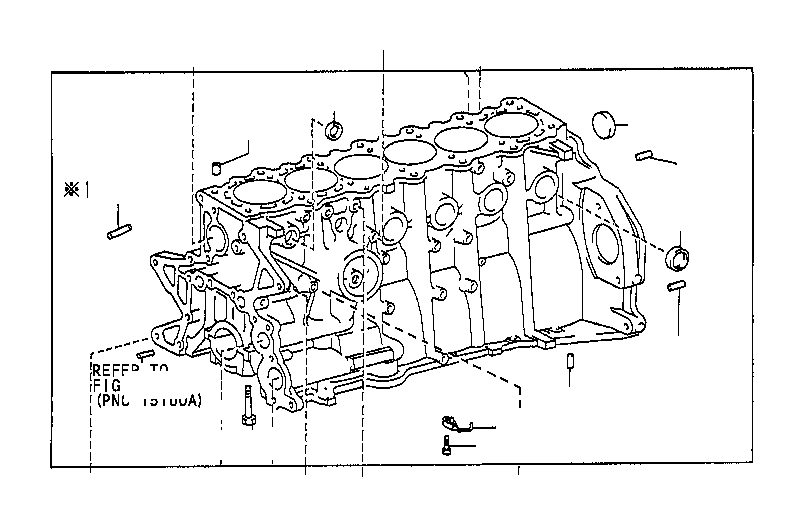 1570731030 - pipe sub-assembly  oil  engine