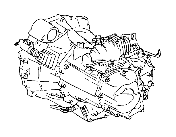 2009 scion xb transaxle assembly  manual  transmission