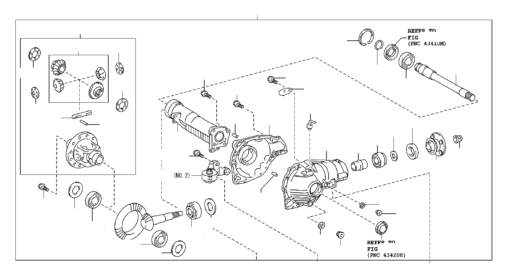 2015 toyota tundra bearing  tapered roller  for front