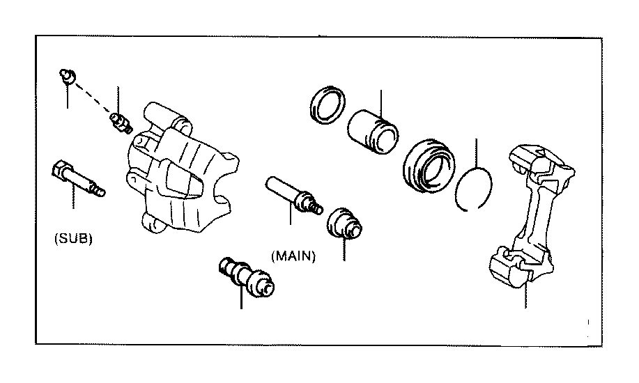 2006 scion tc rear suspension diagram