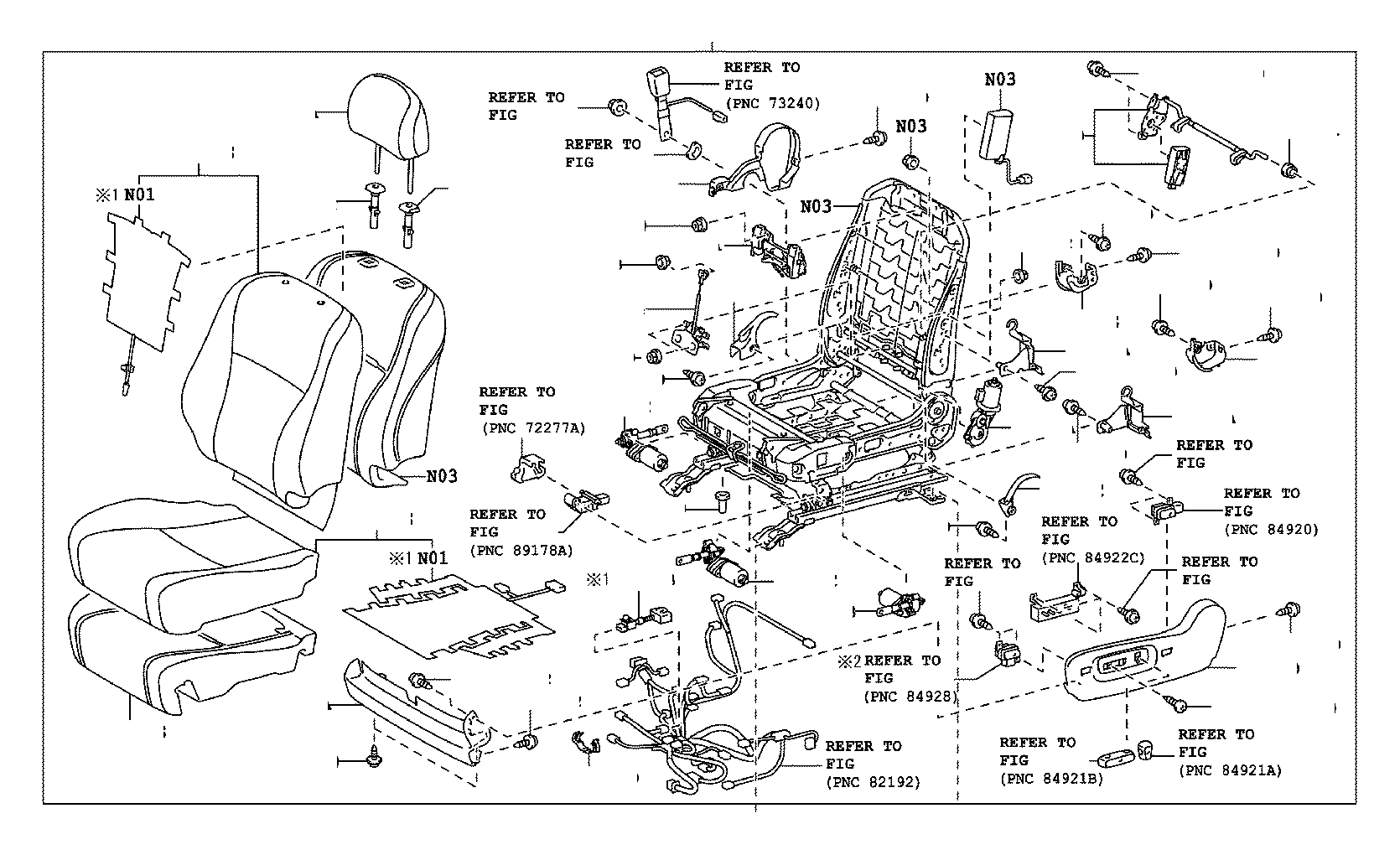 toyota venza seat parts diagram  seat  auto wiring diagram