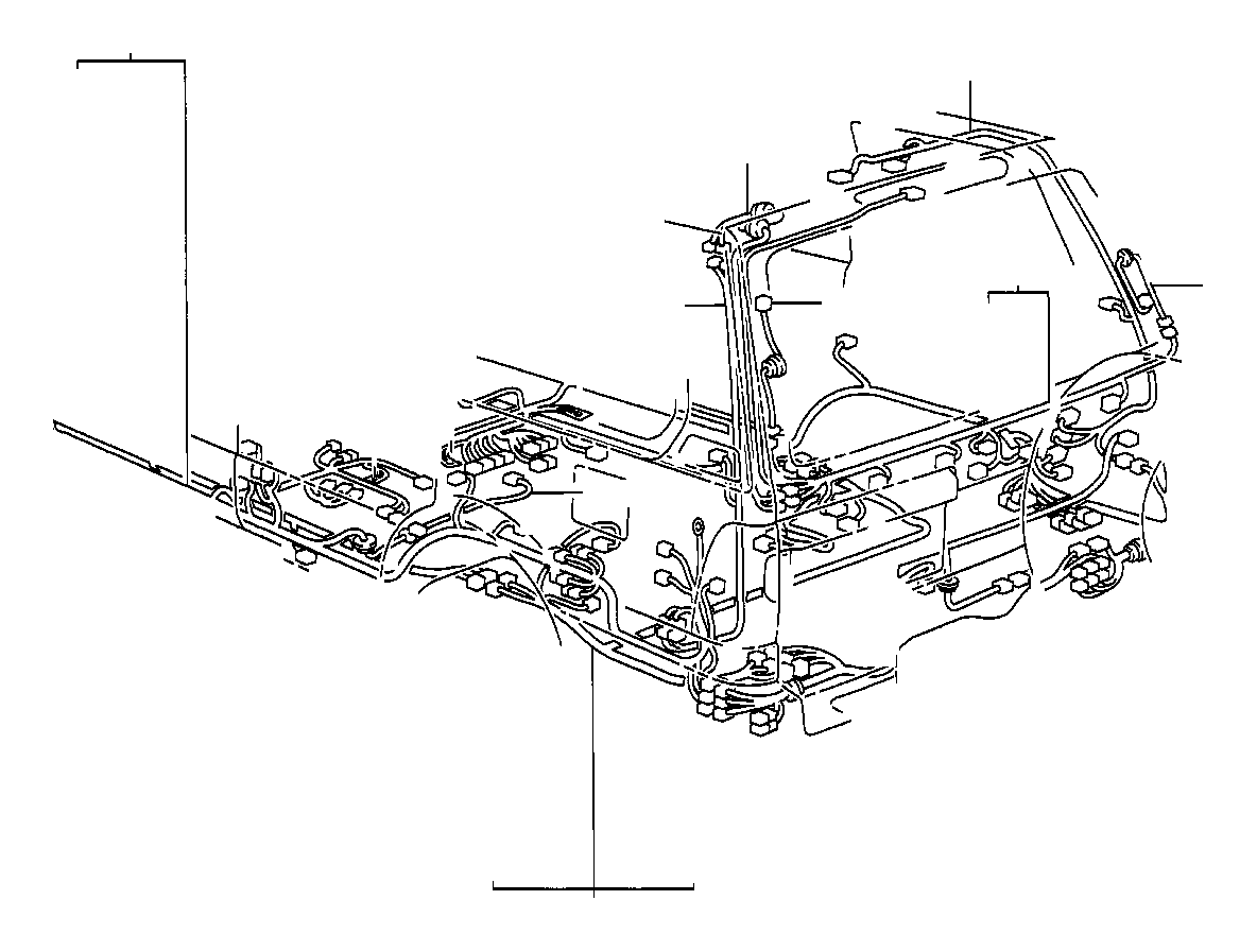 toyota land cruiser wire  fuel tank  wiring  electrical