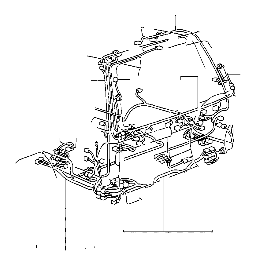 Diagram Toyota Land Cruiser Motor Sub Assembly Diagram Schematic
