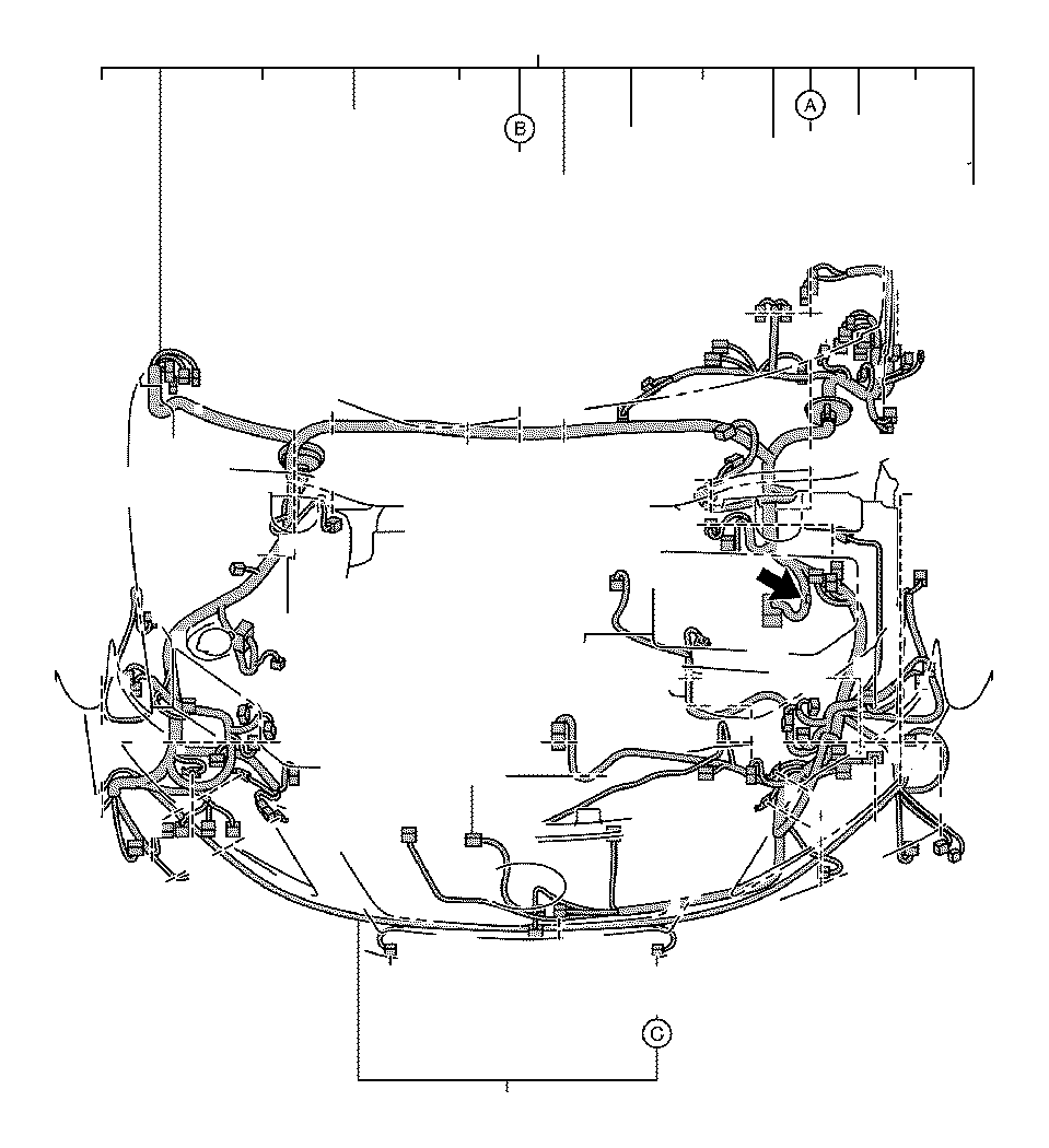 2012 Toyota Camry Connector  Wiring Harness