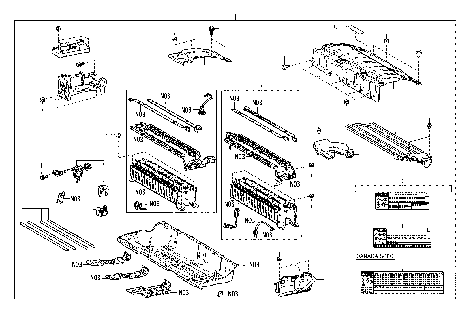 toyota camry label  lithium ion battery caution specTail Light Circuit Diagram 99 Camry