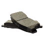 Disc Brake Pad Set (Rear) image for your 2015 Toyota Camry SE