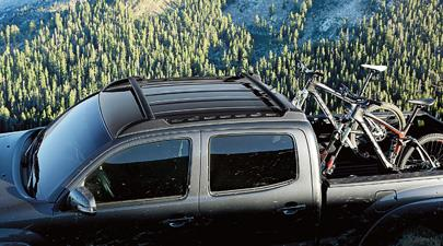 Toyota Tacoma Roof Rack Double Cab Adjusted Ease