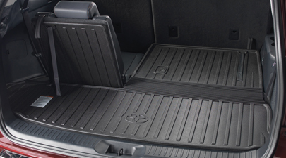 2017 Toyota Highlander Cargo Cover Black Items