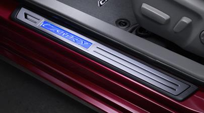 Toyota Tacoma Colors >> Toyota Camry Illuminated Door Sills. That, LiliNUMBER ...