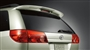 Rear Spoiler image for your 2009 Toyota Sienna