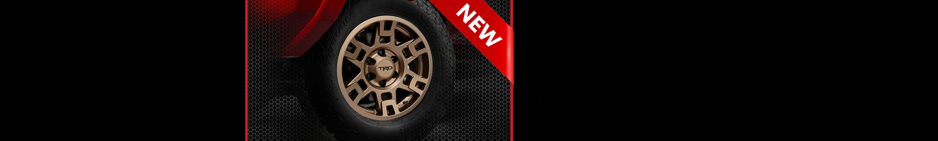 New TRD bronze wheels available now!