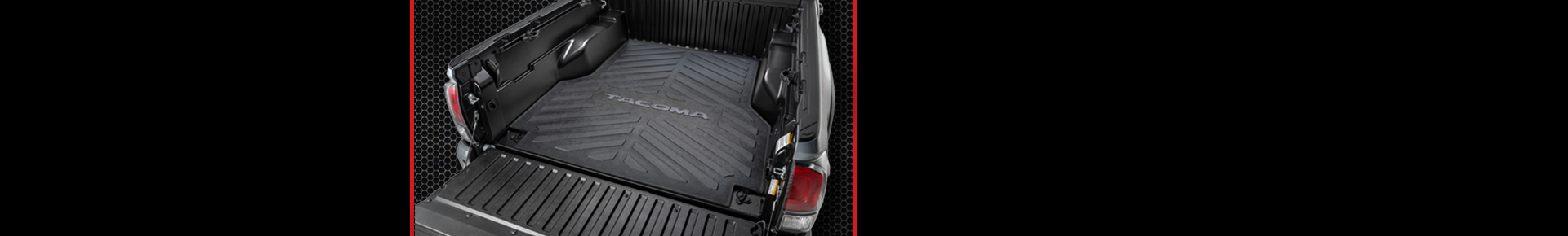 Protect your Tacoma truck bed and cargo.