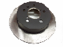 View Disc Brake Rotor (Rear) Full-Sized Product Image